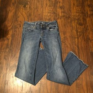 American Eagle Light Wash Bootcut Jeans